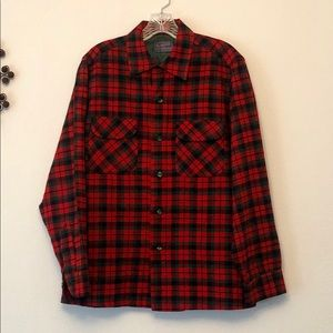 Vintage Pendleton Plaid Button Down